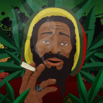 Smoky Jamaica man