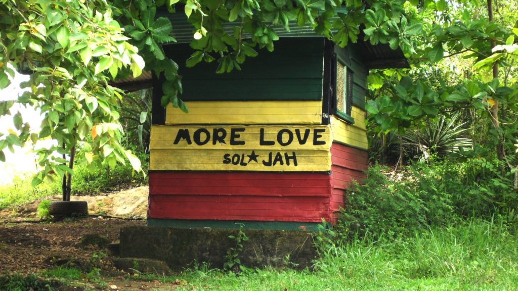 Jamaica shanty villa - More Love Sol and Jah