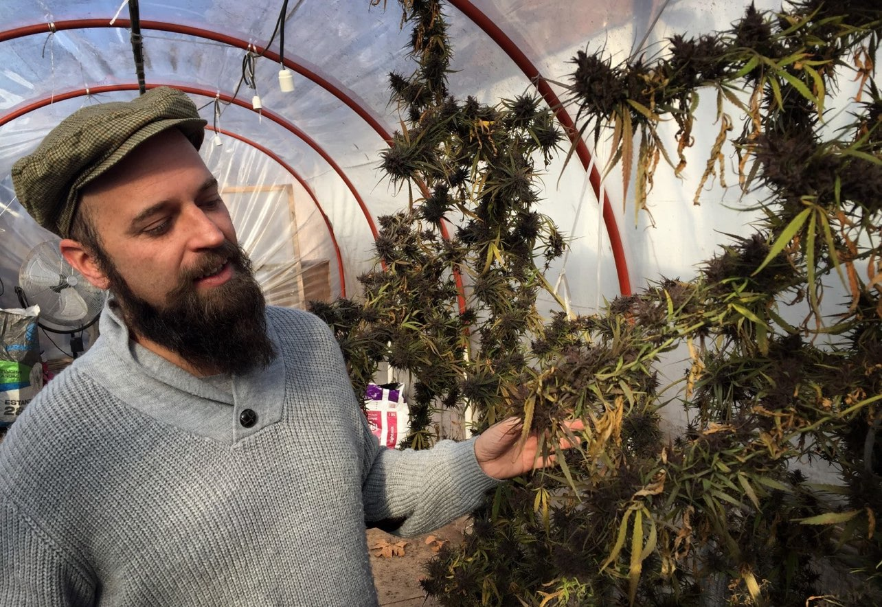 Marijuana club operator Marco Algorta (by Nick Miroff/The Washington Post)
