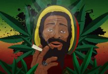 Smoky Jamaican Man - Cannabis HD Wallpaper at Angrybud.com
