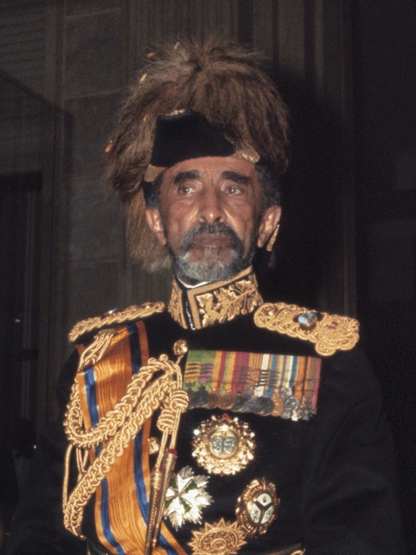 The Almighty, The Magnificent, King of Kings, His Imperial Majesty Haile Selassie - the Rastafarian Prophet