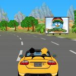 Stoney Games HTML5 - Free Games for Android and iOS Smartphones - and this is a Racing Screenshot