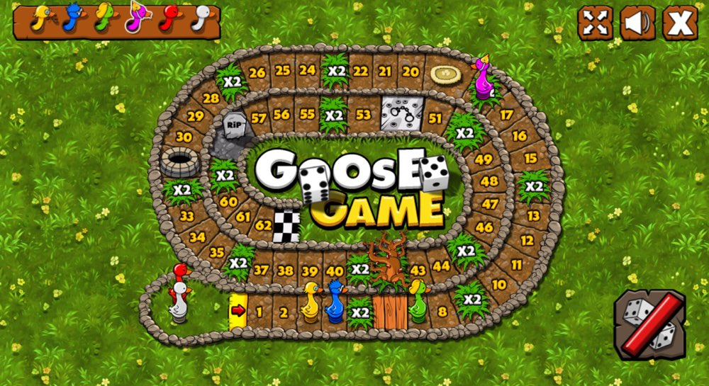Stoney Games - GOOSE GAME - based on Ancient Egypt's SENET for desktops, Mac, PC and smartphones one of two oldest games ever discovered and known to man by far