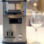 Rosin Bomb Rocket is the most compact rosin press