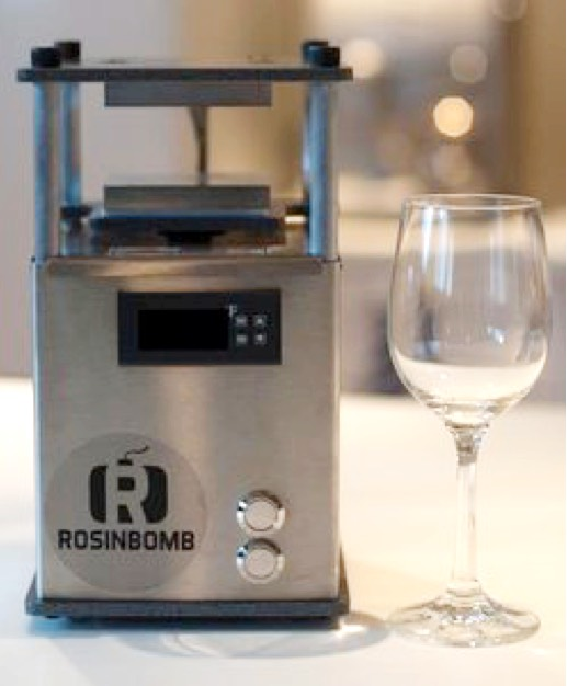 Rosin Bomb Rocket is the most compact rosin press from the Rosin Bomb company, the leading manufacture of the extraction equipment