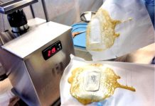 Rosin is a yellow resin, so both wording are correct, whatever you call it Resin Press or Rosin Press