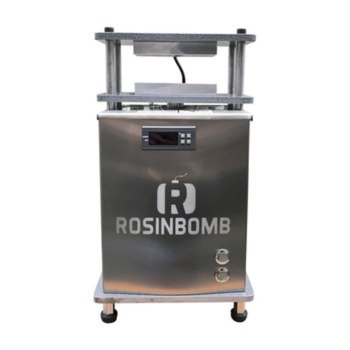 Powerful solution for the rosin exctract, the Super Rosin Press from Rosin Bomb, the most respectful company in the field