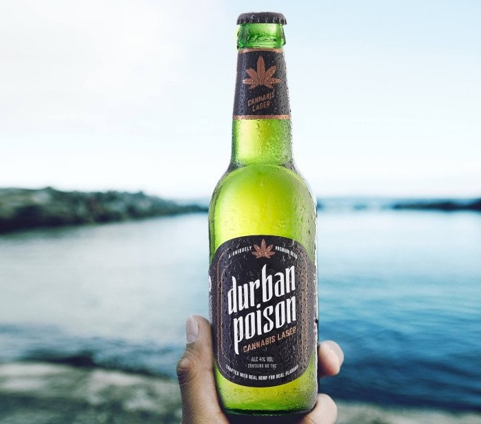 Durban Poison - cannabis infused beer