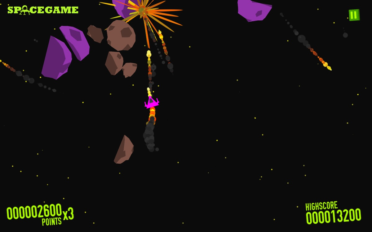 Asteroids Space Game for Android is the cool implementation of a stoner gameplay which may count as a weed game - yeah!