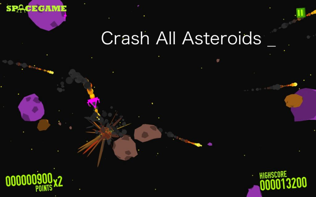 Crash All Asteroids android space game download