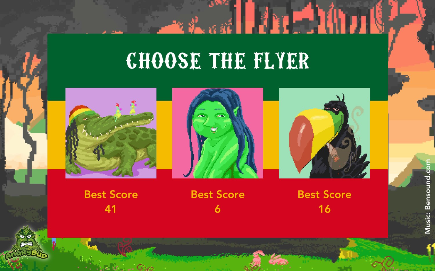 weed game choose the flyer The Flying Croc Simulator for android