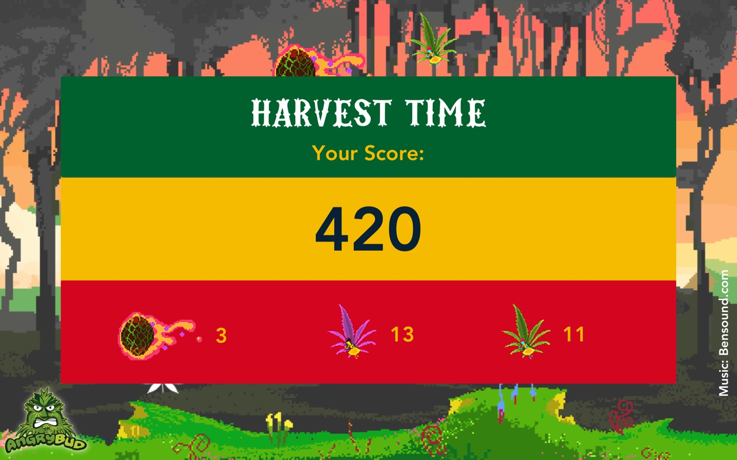 420 weed game for android - The Flying Croc Simulator - game dev design screenshot for android