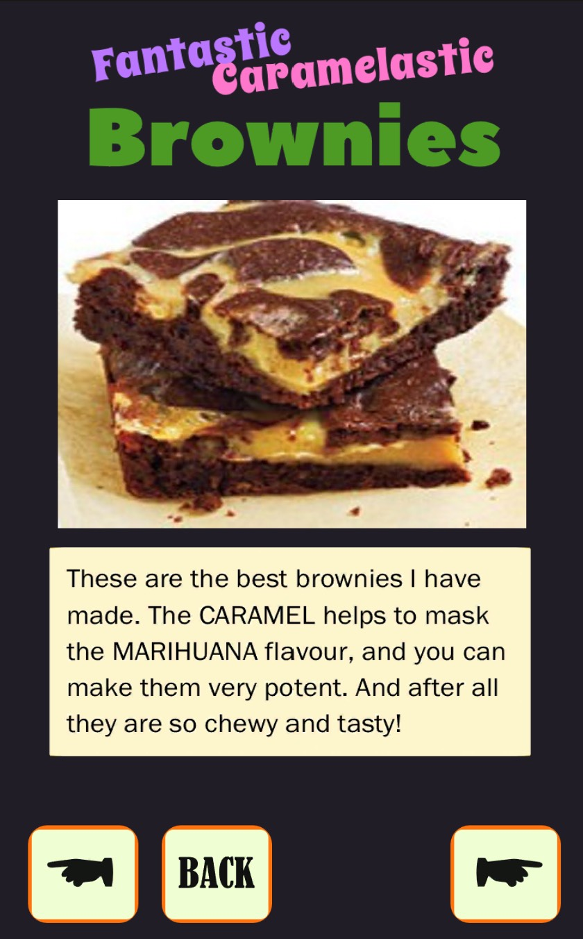 Weed Brownie Recipe - cookbook app