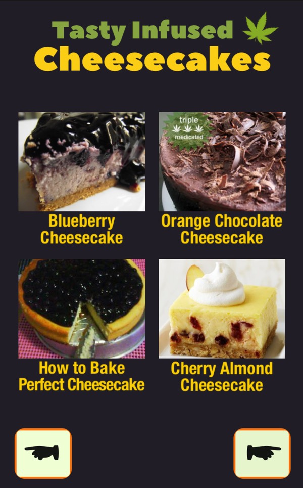 free Marijuana Edibles Recipes android app cookbook