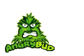 Angrybud - small logo - cannabis blog & cooking weed