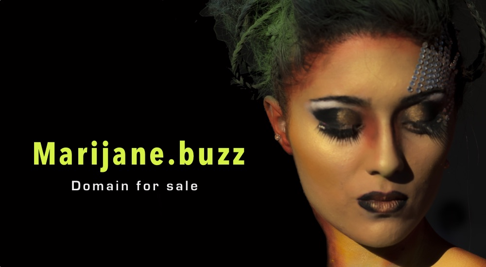 Marijane.buzz - marijuana oneword domain, where buzz stands for revelries