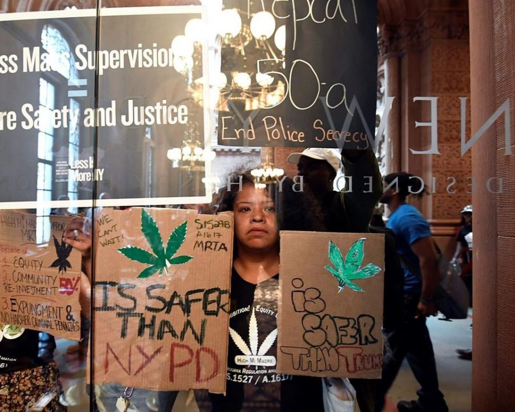 New York legalized weed, yet NYPD still having logical concerns